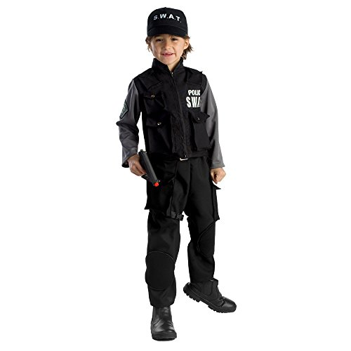 [Jr. SWAT Team Costume - Size Large 12-14] (Swat Costumes Kid)