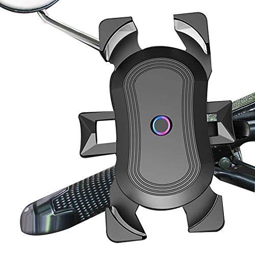 スマホホルダー 自転車 GPSナビ 携帯 固定用 防水 1秒ロックアップ 全機種対応 360度回転 脱着簡単