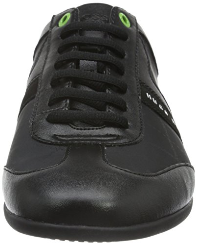 Boss Athleisure Herren Space_lowp_nypr 10191438 01 Low-top Schwarz (nero 001)