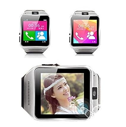 GV08 Bluetooth SmartWatch inteligente reloj de la pantalla táctil del teléfono 1.54 pulgadas Marcador cámara para
