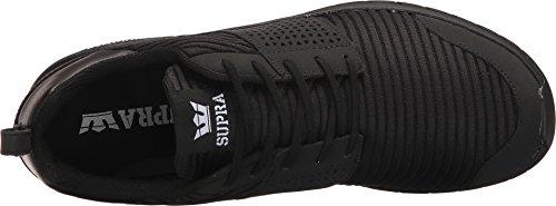 Supra Mensenschaar Zwart / Wit / Zwart Atletische Schoen