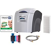 ID Card Maker Kit: Magicard Pronto ID Printer with Two-Year Warranty, CardPresso ID Card Software, 100 image Full Color Ribbon, and 100 Cards