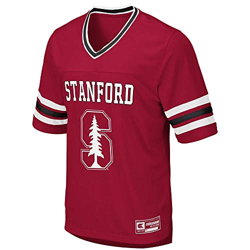 Colosseum Mens Stanford Cardinal Football Jersey - M ()