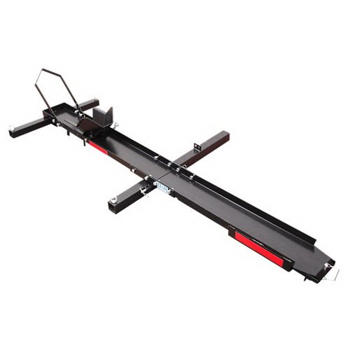 500lbs Motorcycle Sport Bike Hitch Carrier Hauler Rack with Loading Rack (Sport Track Hitch)