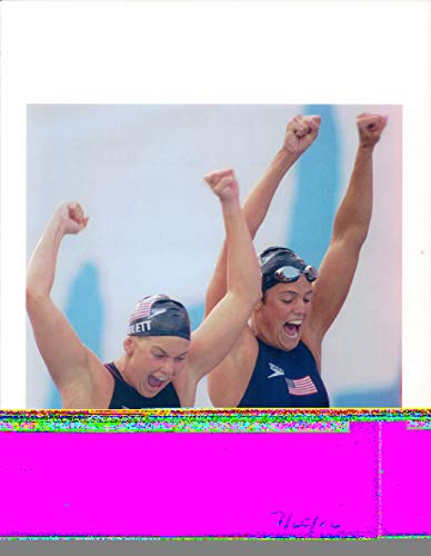 Vintage Photos 1992 Press Photo Olympic Games Summer Sports Woman United States Smile 8X10
