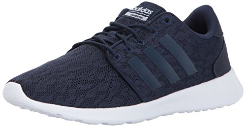 adidas Women's CF QT Racer Running Shoes, Collegiate Navy/Collegiate Navy/White, (8.5 M ()