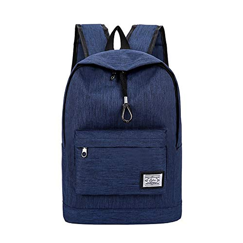 Wheeled Bag Icon Computer (Men Laptop Backpack Youth Computer Travel Campus Junior High School Student Bag)