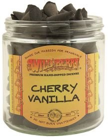 WILDBERRY 50 Incense Cones - Cherry Vanilla