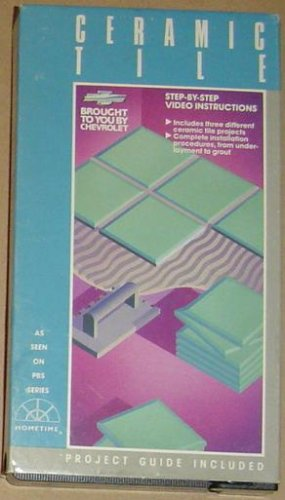 Ceramic Tile, Step-by-step Video Instructions, Project Guide Included, Complete Installation Procedures, From Under-layment to Grout, Includes Three Different Ceramic Tile Projects, Brought to You By Chevrolet