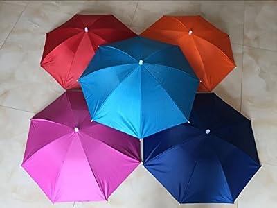 Ogrmar 2PCS Umbrella Hat Headwear for Outdoor Fishing Gardening Beach