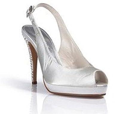 Elegante Sandalette von Creme Apart in Creme von  Amazon   Schuhe & Handtaschen b095e8
