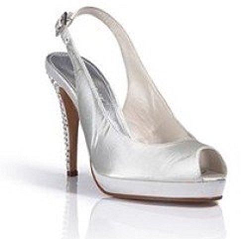 Elegante Sandalette von Apart in Creme Creme