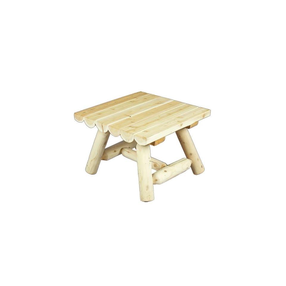 Cedarlooks 0200090 Log Square Coffee Table