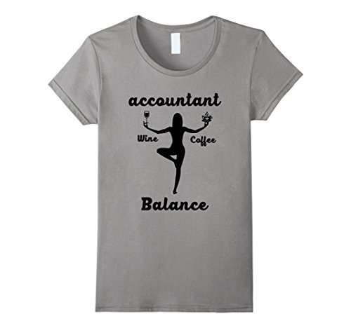Funny Accountant Balance Quotes T Shirt product image