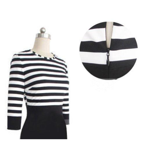 Janecrafts Striped Dress (XL) by Janecrafts (Image #3)