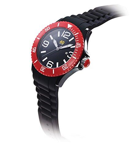 40Nine Unisex 40NINE02 BLACK RED