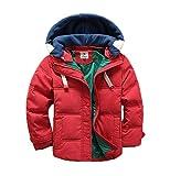 Vinmin Valentina Kids Winter Latest Thicken Hooded