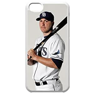 MLB Iphone 5C White Tampa Bay Devil Rays cell phone cases&Gift Holiday&Christmas Gifts NBGH6C9126243