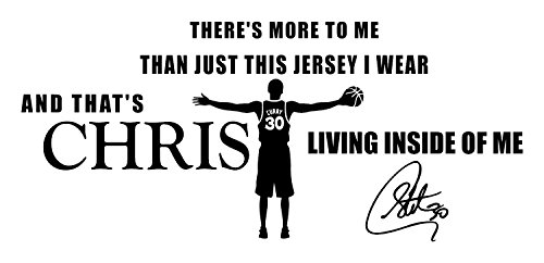 Stephen Curry Life Quotes Wall Decals Basketball Wall