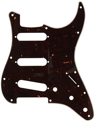 Precision Fender Pickguard (Fender Modern Pickguard, Stratocaster, 11-Hole - Tortoise Shell)
