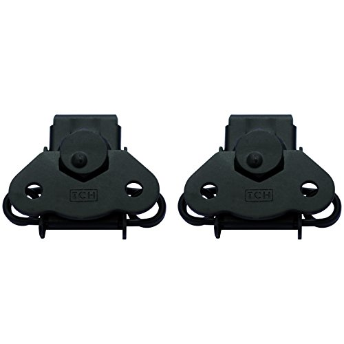 e45fb35f3c TCH Hardware 2 Pack Black Steel Spring Loaded Butterfly Twist Latch and  Keeper - Toggle Clamp