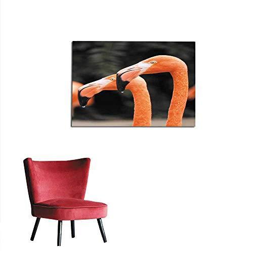homehot Wall Sticker Decals Flamingo Duo Mural 20