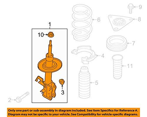 Nissan E4303-5HA1B Strut Kit Fr Lh by Nissan (Image #3)