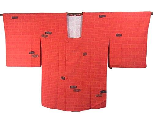 結婚管理者壁紙リサイクル 道行コート 正絹 石垣文  裄65cm 身丈83cm