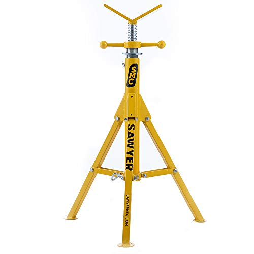Folding V Head Pipe Stand