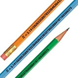 Pi Day March 14 - Pi Digits Pencils - 144 per box