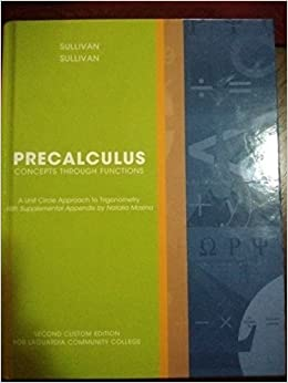 Precalculus Concepts Through Functions Pdf