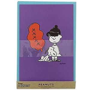 Snoopy Letter Set Violet American Taste VI
