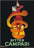 Bitter Campari by Leonetto Cappiello Poster Print, 16x20