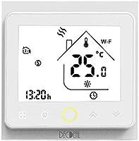 Decdeal-Termostato WiFi para Caldera de Gas/Agua Termostato Inteligente programable - Función de Control de Voz -...