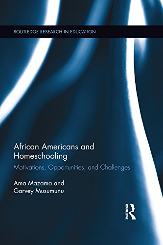 Search : African Americans and Homeschooling: Motivations, Opportunities and Challenges (Routledge Research in Education Book 125)