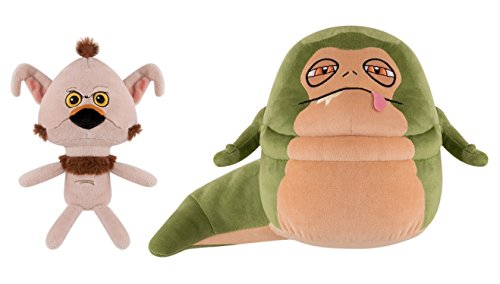 Funko Galactic Plushies Star Wars Jabba the Hutt and Salacious B. Crumb