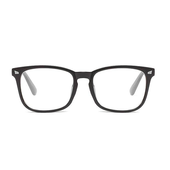 descuento especial de sin impuesto de venta especial para zapato BABAYU Gafas Mujer Hombres Lentes Transparente La moda ...