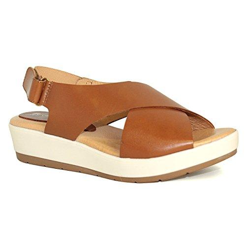 Sandalia de mujer - Maria Jaen modelo 4567 N Cuero