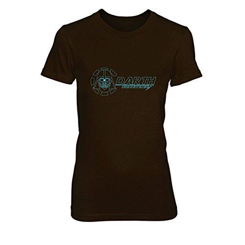 Darth Industries - Damen T-Shirt, Größe: S, Farbe: braun