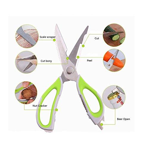 Xcellent Global Multi Purpose Scissors Magnetic