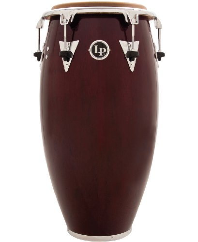 Latin Percussion LP Classic Top-Tuning 11'' Quinto - Dark Wood/Chrome by Latin Percussion
