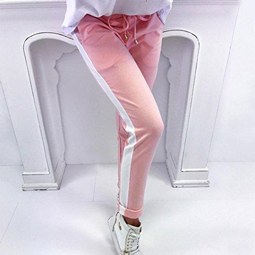 Impero Donna Jeanshosen Itisme Jeans Rosa 0awqpZxE7