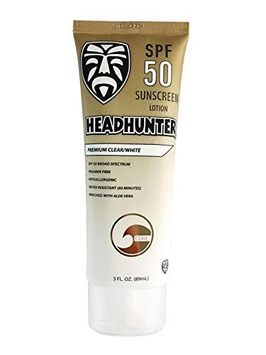 Headhunter SPF 50 Clear Sunscreen