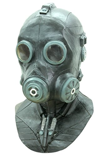 [Deluxe Full Face Smoke Gas Mask] (Deluxe Smoke Mask)
