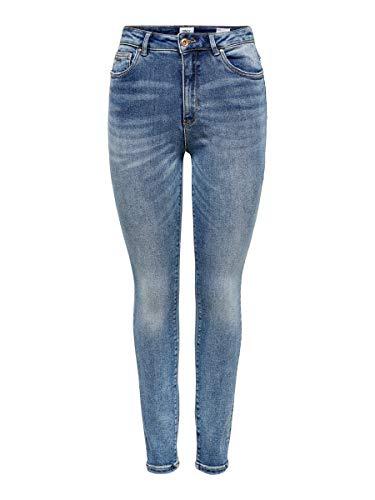 ONLY Damen Skinny Fit Jeans ONLMila HW Ankle