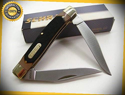 2 Blade Knife Pocket Muskrat - Old Timer Muskrat 2 Blade Folding Pocket Sharp Knife 77OT perfect for outdoor camping hunting