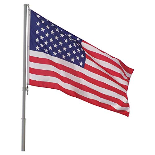 Top Flight Telescoping 20ft Flagpole - (Silver)