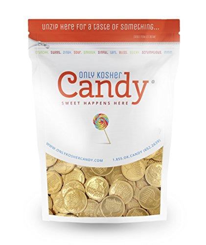 Bulk Kosher Nut Free Dairy Hanukkah Gelt Coins - 165 ct....