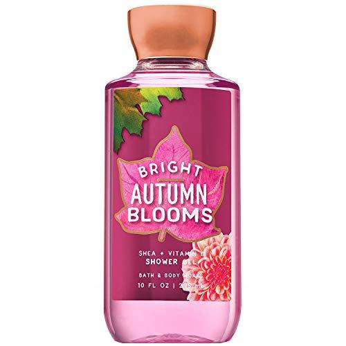 Bath & Body Works Bright Autumn Blooms 10.0 Oz Shea + Vitamin E Shower Gel, 10.0 Ounce ()