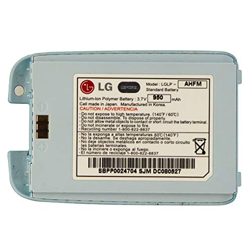 LG Battery LGLP-AHFM (950mAh) 3.7V for LG Rumor Scoop AX260 UX260 - Light Blue